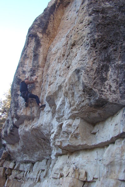 Rock Climbing Photo: Just when you thought you had it in the bag...