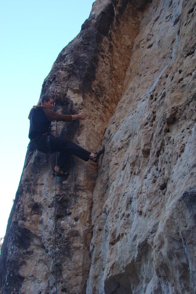 Rock Climbing Photo: it throws you off like a dirty sock!