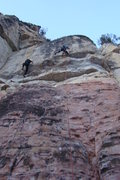 Rock Climbing Photo: If you look closely, the climber on the right is &...