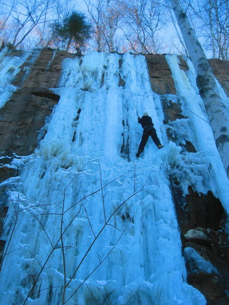Climbing on up 1/2/2012
