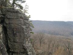 Rock Climbing Photo: What a view you get!