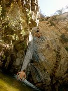 Fish Creek cliff jumping