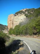 Rock Climbing Photo: The Lookout from the SE on Yerba Buena Rd.