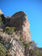 Rock Climbing Photo: The southernmost formation at The Lookout as seen ...