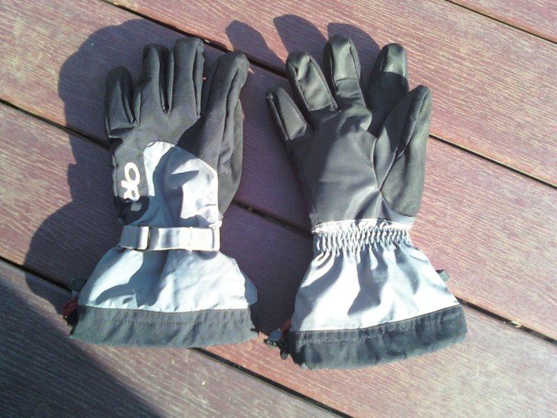 Rock Climbing Photo: OR snowline glove