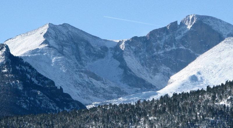 Longs Peak Cirque 12/26/2011
