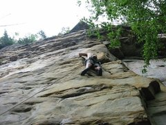 "Rock Climbing Photo: Attempting a nice route  ""She got the Bosch, ..."