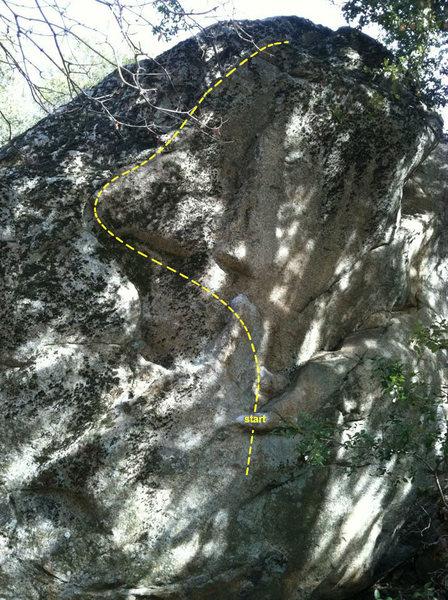 Rock Climbing Photo: Fat Darrell Sandwich