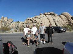 Rock Climbing Photo: - me, john long, shelby beardslee, greg epperson, ...