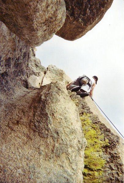 Rock Climbing Photo: Climbing at Hartman Rocks