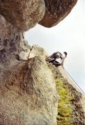 Rock Climbing Photo: Climbing at Hartman Rocks