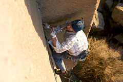 Rock Climbing Photo: Starting the business on PPE. Photo by Bennett Bar...