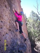 Rock Climbing Photo: Warming up!