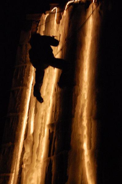 Night climbs