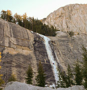 Rock Climbing Photo: December 2011, Hwy 120 open, approach 20 minutes f...