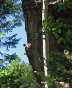 Rock Climbing Photo: Chasing Dragons...  JJ Schlick Photo