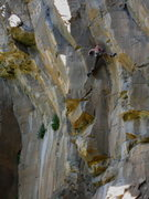 Rock Climbing Photo: False Prophet, The Waterfall, AZ  JJ Schlick Photo