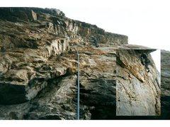 Rock Climbing Photo: Stone Gallows 10b my buttocks...