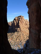 Rock Climbing Photo: Wishing I were in the sun instead of the frigid no...