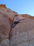 Rock Climbing Photo: Daniel on P3.