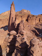 Rock Climbing Photo: view from the P3 belay