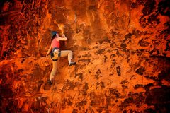 "Rock Climbing Photo: ""Just in from L.A."" action. December 201..."