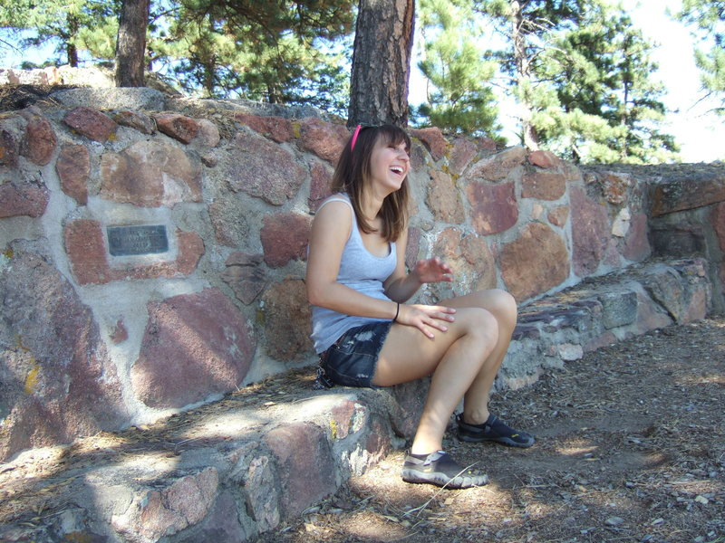 Hiking on Flagstaff