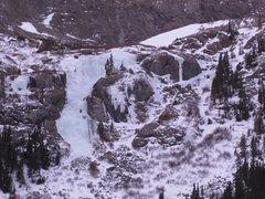 Rock Climbing Photo: Main flow.