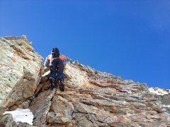 Rock Climbing Photo: Scramble/solo