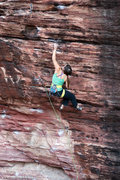 Rock Climbing Photo: Sarah Brengosz on Cannabis. Jan 2012  mattkuehlpho...