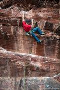 Rock Climbing Photo: Andy Hansen on Freak Brothers. Jan 2012.  mattkueh...