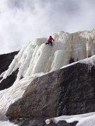 Rock Climbing Photo: Heck, I'll take a run up it.
