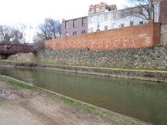 Rock Climbing Photo: canal walls 1