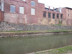 Rock Climbing Photo: canal walls