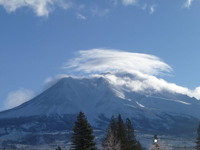 Mt. Shasta after a storm.