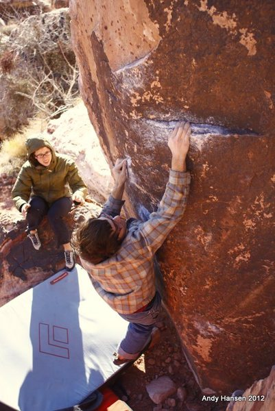 Rock Climbing Photo: Tony Brengosz on Ultimate Grandstaff