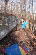 Rock Climbing Photo: Swampfoot, V2, Governor Stable
