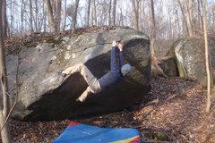 Rock Climbing Photo: Bertotez on Swampfoot