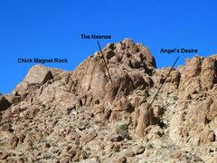 Rock Climbing Photo: Alien Head Area, Joshua Tree NP
