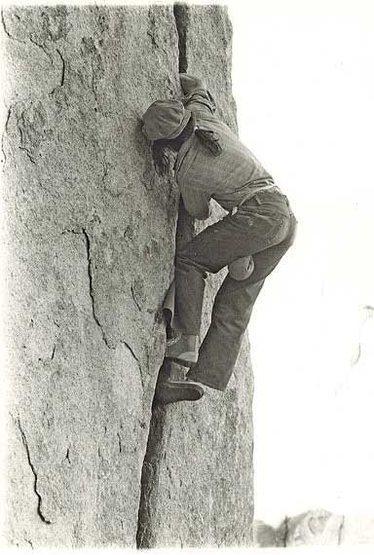 """Rock Climbing Photo: Fisticuffs John """"Yabo"""" Yablonsky  Photo ..."""