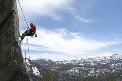 Rock Climbing Photo: Rapelling