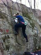 Rock Climbing Photo: Frustration Jam