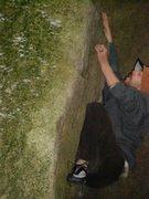 Rock Climbing Photo: p-way boulder natural