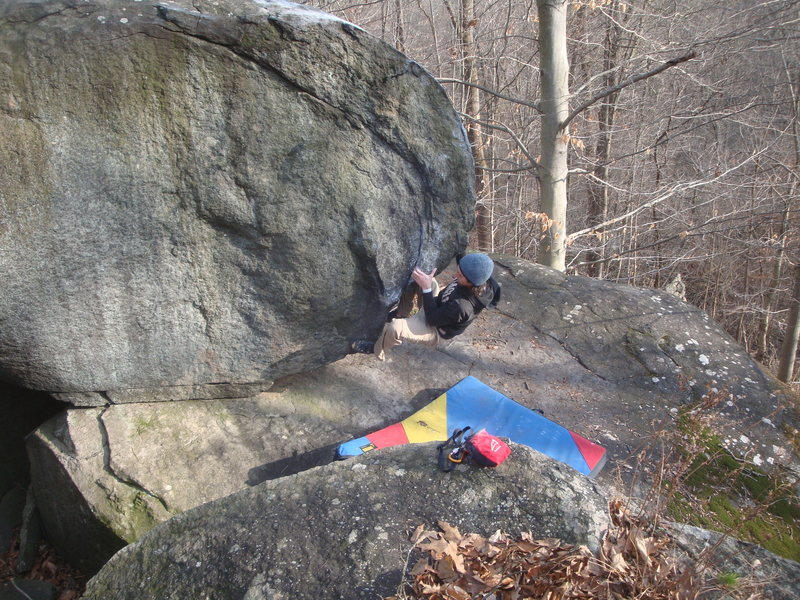 Rock Climbing Photo: Planet of the Apes, V2, Governor Stable