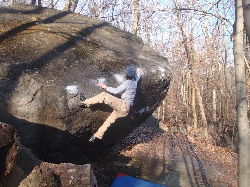 Rock Climbing Photo: 45 traverse