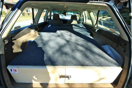 Car Camping Bed