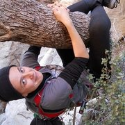 Rock Climbing Photo: Being silly while scrambling @ Red Rock Canyon, La...