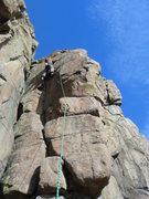 Rock Climbing Photo: Josh Darnell on D's, Jan. 2012.