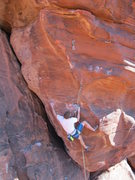 Rock Climbing Photo: Andy on Every Mother's Nightmare, once 12b, now 13...