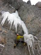 Rock Climbing Photo: Griz starting off.